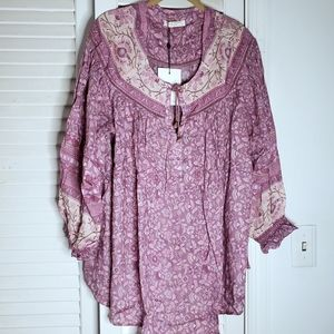 Spell & the Gypsy Dahlia Blouse Mulberry